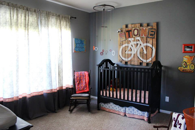 Stone's Vintage Bicycle Inspired Nursery