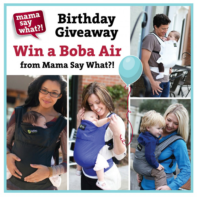 Enter to win a Boba Air from Mama Say What?!